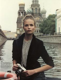 Natasha Poly - From Russia with Love  Vogue Russia