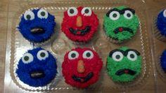 Cookie, Elmo and Oscar