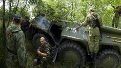 Rapid Trident 2011: Ukrainische Soldaten während der Übung