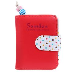 $4.11 (Buy here: https://alitems.com/g/1e8d114494ebda23ff8b16525dc3e8/?i=5&ulp=https%3A%2F%2Fwww.aliexpress.com%2Fitem%2FPU-Leather-Dollar-Coin-Wallet-for-Women-Dot-Sweet-Cute-Small-Female-Purses-Zipper-Handbag-Short%2F32691697885.html ) PU Leather Dollar Coin Wallet for Women Dot Sweet Cute Small Female Purses Zipper Handbag Short Mini Clutch Wallets Multi Colors for just $4.11