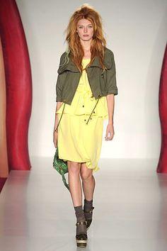 SS12 Nettle Green Cotton Drill Jacket - Love Mine! Xx