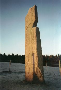 Maiden Stone- pictish symbol stone near Inverurie, Scotland