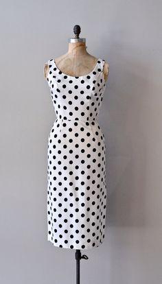 Bop Prosody dress and jacket / polka dot 1950s dress by DearGolden