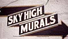 Sky High Murals, at 85 Wythe Avenue in Brooklyn