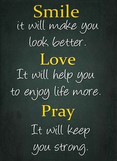 inspirational sayings and pictures about prayer | Inspirational Picture Quotes