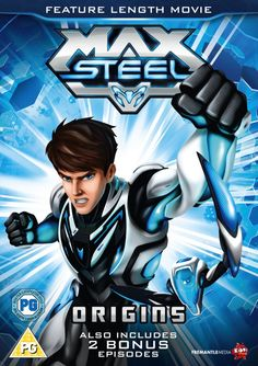 Two Copies of Max Steel – Origins on DVD to Be Won
