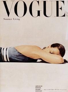 British Vogue, June 1, 1947. #vogue #summer #swim
