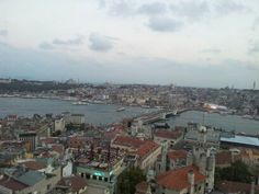 galata kulesinden istanbul.. Paris Skyline, Istanbul, History, Travel, Historia, Viajes, Destinations, Traveling, Trips