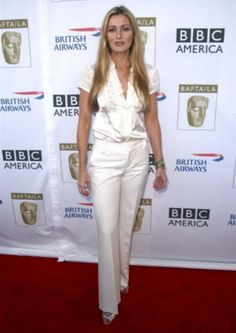 Louise Lombard, British America, British Airways, Peplum Dress, Jumpsuit, Dresses, Fashion, Overalls, Vestidos