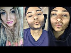 WOMAN TO A MAN MAKEUP TRANSFORMATION TUTORIAL / Female To Male Make-up - YouTube