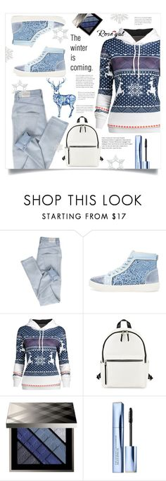 """The winter is coming."" by puljarevic ❤ liked on Polyvore featuring Cheap Monday, Rene, French Connection, Burberry and Estée Lauder"