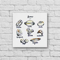 Buns Canvas Art Print by Canvas Wall Art, Canvas Art Prints, Canvas, Painting, Art, Canvas Art