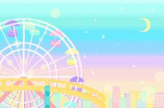 <3 Pastel Ferris Wheel <3