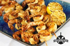 Southern Bite – Stacey Little's Southern Food Blog – Easy Grilled Shrimp and How to Peel and Devein Shrimp [Video and Recipe Included]