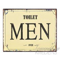 Zawieszka Retro Toilet Men