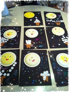 9月お月見工作 の画像|Children's Discovery Place幼児教室~Make, Play and Learn~