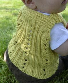 Beatrice Perron Dahlen - Artist & Crafter: You Are My Sunshine baby Vest  free pattern