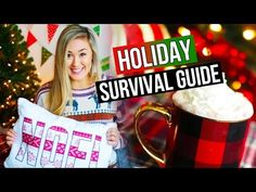 DIY HOLIDAY SURVIVAL GUIDE: Room Decor, Drink Idea & Outfit | LaurDIY - YouTube