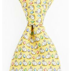 Vineyard Vines Mens Bunny & Egg Tie. Perfect for Easter!