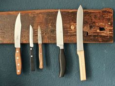 DIY-Anleitung: Magnetische Messerleiste aus Holz selber bauen via DaWanda.com