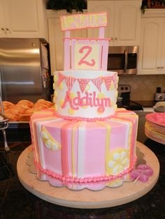Pink Lemonade Stand Birthday Party: cake, decorations, food, ideas...