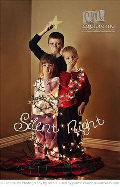 Great Ideas for Funny Holiday Cards. By Capture Me Photography by Nicole. #Christmas #photos