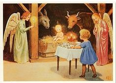Elsa Beskow (1874-1953):  Christmas