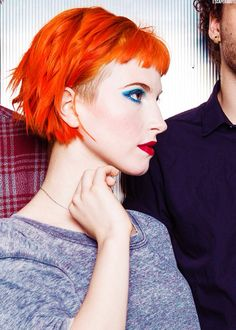 Hayley Williams, killing it with the makeup!