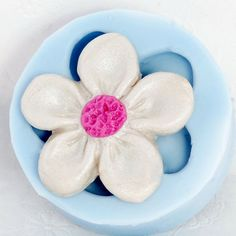 Flower Mold for resin polymer clay PMC plaster by MoldMeShapeMe, $5.00