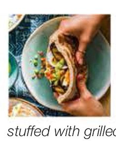 Sabich with green tahini (Olive Magazine), Mar 2020 Hard Boiled, Boiled Eggs, Small Meals, Tahini, Herbalism, Recipies, Magazine, Dishes, Ethnic Recipes