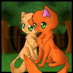 warrior cats pictures of firestar - Google Search