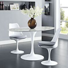 Update your dining room or kitchen this season with the Lippa Table from LexMod. The Lippa Table has been a symbol of modernism for the past 60 years.