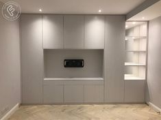Added storage throughout the home, built in any style you like from floating to built in. Your fitted shelves in London are made specifically for your home. Bedroom Cupboard Designs, Wardrobe Design Bedroom, Basement Living Rooms, Living Room Decor, Lcd Panel Design, Bedroom Built Ins, Living Place, Modern Bedroom Decor, Home Decor Inspiration