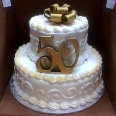Enchanting Wedding Anniversary Cake Ideas Inspirations You Must See 50th Wedding Anniversary Decorations, 50th Anniversary Cakes, Anniversary Dinner, Anniversary Ideas, 50th Birthday Cake For Women, 60th Birthday Cakes, Birthday Ideas, Beautiful Wedding Cakes, Occasion Cakes