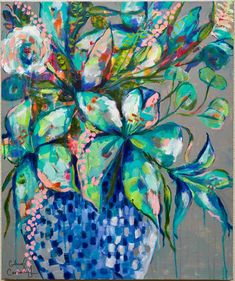 Acrylic art by Cheryl Cavanagh