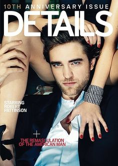 Robert Pattinson for Details