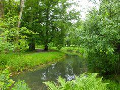 Waterway, Marie-Antoinette's estate, Versailles.