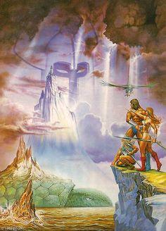 Original art for Golden Axe (Sega, 1989)