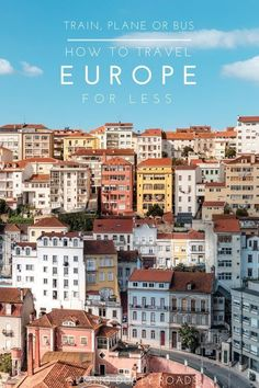 Finding the best flight, train or bus for your European adventure can be time-consuming. Thankfully, GoEuro have taken all the hard work out of it! Click on the pin to discover more!