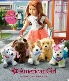 Living A Doll's Life : AG July Catalog - PETS!