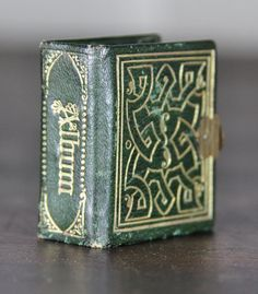 """Miniature Antique (1860-70s) Photo Album with 24 Little Tintypes, Including Rare Church Image, 1.75"""" x 1.75""""... 215.00, via Etsy."""