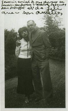 Jean Dubuffet and Lilie Carlu Dubuffet, ca. 1950