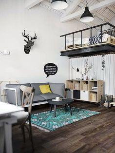 Un appartement à la déco scandinave (4)