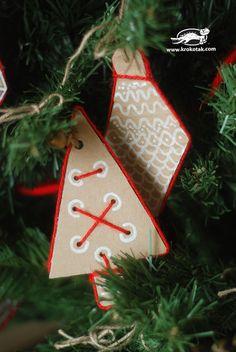Christmas Cardboard Decoratoin