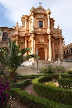 The church of San Domenico - Noto, Sicily, Italy