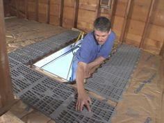 Attic flooring