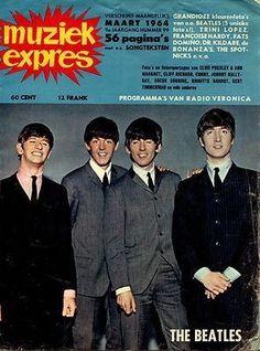 MUZIEK EXPRES 1964 BEATLES BRIGITTE BARDOT JOHNNY HALLYDAY SINGING NUN SHEILA (12/15/2012)