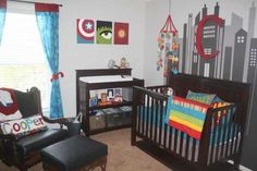 49 Cute Baby Boy Room Ideas For Happy Baby - Home-dsgn Baby Room Themes, Baby Boy Rooms, Bedroom Themes, Baby Boy Nurseries, Nursery Themes, Nursery Room, Kids Bedroom, Bedroom Ideas, Bedroom Decor