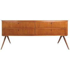 Mid-Century Modern Italian Sideboard in the Style of Osvaldo Borsani | From a…