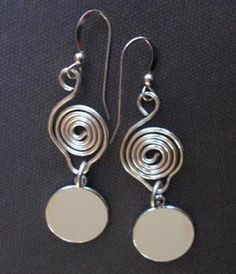 3 Tutorials On How To Make Scrolled Wire Connections - The Beading Gem's Journal